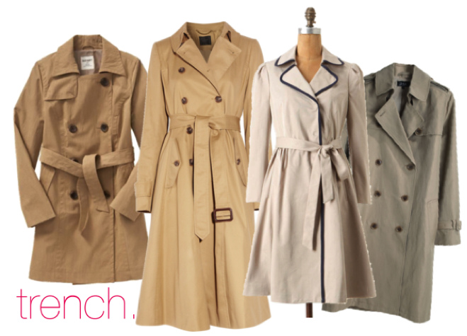 Trench Collage
