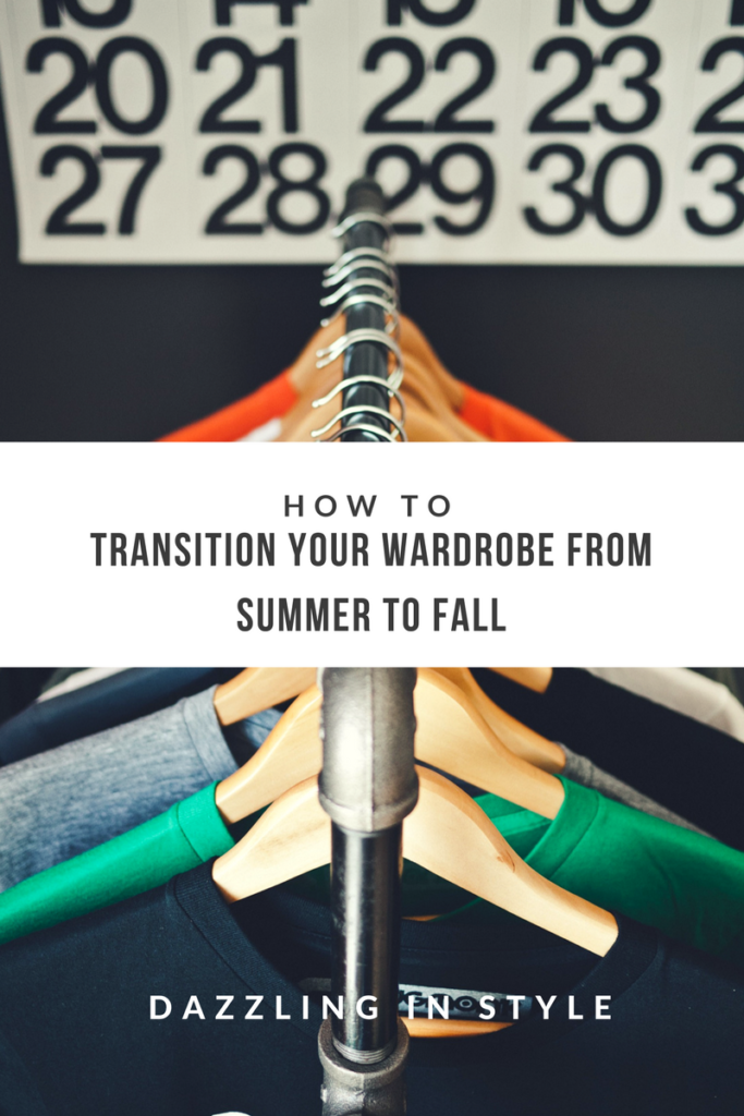 Transition Your Wardrobe from Summer To Wiinter